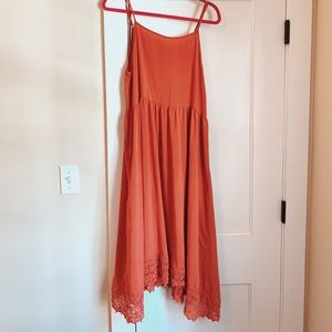 Free People Midi Slip